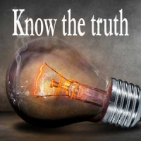 Know the truth and the truth will set you free