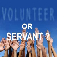 volunteer or servant